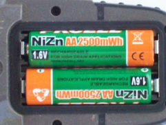 Piles rechargeables 1,6V